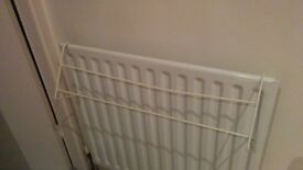 Set of 5 pyjama/towel radiator hanging rails