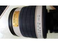 Samyang 500mm Mirror Lens canon