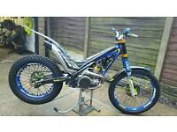 SHERCO ST300 FACTORY ROAD REGISTERED may swop/px 4t enduro