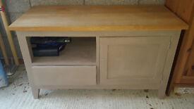 Solid Oak TV Unit - Urgent sale required!