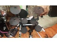 Session Pro DD505 electric drum kit - good working ****65 ponds only today
