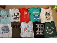 Baby boys 9-12 month old clothes bundle 34 items