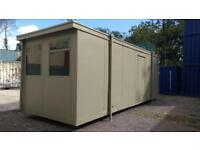 24 x 9 portable cabin/site office/building /accommodation