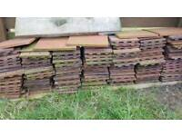 300 Ceramic roof tiles, free until Wednesday
