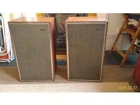 Rare Vintage Wharfedale 'Dovedale W2' Hi-Fi Loudspeakers [Pair]