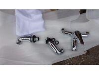 bath taps (4 pieces)