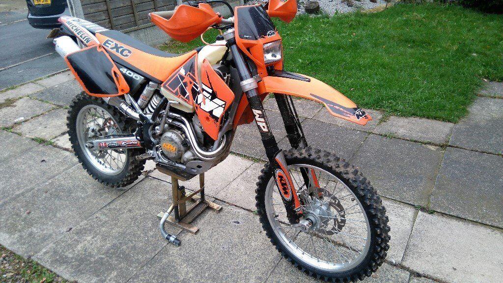 ktm exc 400, 2002 model road registered, sell or swap trials bike
