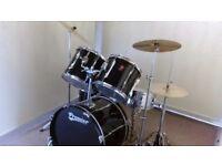 Retired drum teacher has a Premier 'APK' drum kit for sale.