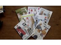 Bundle of clothes Patterns for sale.