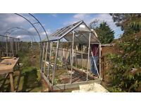 Old Greenhouse with uPVC panels