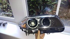 BMW 5 Series F11 LCI F10 LCI Bi Xenon Headlight Right Drivers Side 63117343914+ free ballast, module