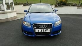 Audi A4 S line Sprint blue limited edition colour