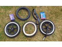 PHIL & TED SPORT SPARE FRONT WHEEL (AND EXTRAS)