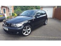BMW 1 Series 2.0 118d M Sport 5dr - 2010, 49,000 miles, FSH, AC, Black Leather Heated Seats, PDC