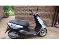 Yamaha Neos 4 - 50cc Moped / Scooter - 150 MILES FROM NEW!