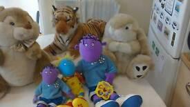 Soft Cuddly Toys £4 each 3 TWEENIES for £4. 01159785741