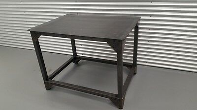 Steel Service Work Bench 35 X 47 X 36 H Industrial Furniture Welding Table