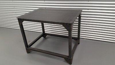Steel Service Work Bench 35 X 47 X 36 H Industrial Furniture Welding Table