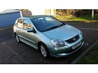 2005 Honda Civic 1.4 i SE Hatchback 5dr Warrented Mileage @07445775115@ 07725982426@