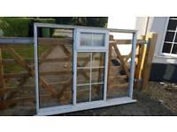 Double glazed windows and front door