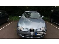 Alfa Romeo 147 selespeed Low mileage long MOT