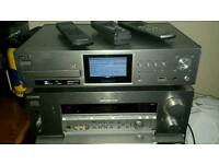 SONY SURROUND SOUND SYSTEM /STEREO WITH HDD RECORDER