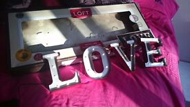 LOVE sign - LED for marquee/party