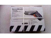 New electric pistol grip cordless screwdriver (11 piece set)