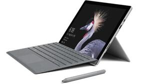 "Microsoft Surface Pro 12"" Multitouch Tablet intel Core i7 8GB RAM 256GB SSD HD DualCamera Keyboard Stylus Windows 10 Pro"