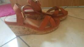 Wedges brand new size 6