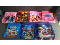 Kids School Draw String PE bags