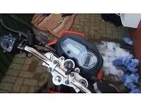 Lexmoto zsx 125 2014 bearly used mint con