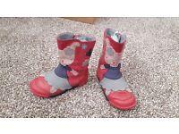 Girls boots Clarkes size 7F