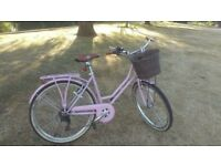 VIKING 18″ Ladies Dutch style Bike-PINK