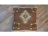 """Kilim Cushion 22"""" square"""