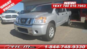 2012 Nissan Titan SV 4x4 CREW CAB TRUCK V8 GREAT CONDITION