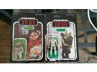 2 star wars vintage figures