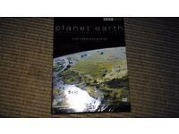 Brand new sealed planet earth dvd box set