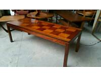 Rosewood P S Heggen Norwegian coffee table