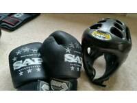 SAP kickboxing equipment