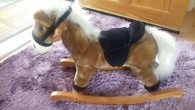 Rocking horse for small child/toddler