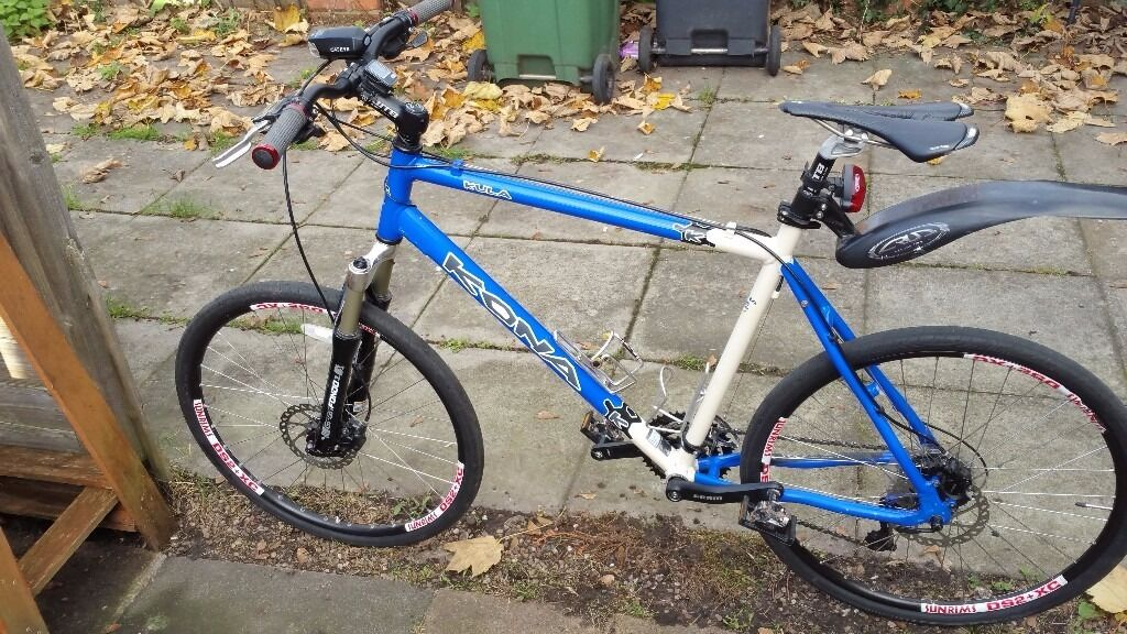 kona kula 22 frame hydaulic brakes 27s deore xt warranty delivery not trek specialized carrera