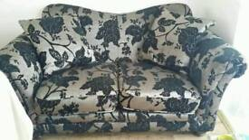 Dfs 4 seater 2 seater and pouffe