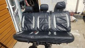 Vw transporter T5 Kombi/shuttle rear bench seat