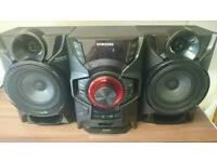 Samsung giga sound blast mini hi-fi system