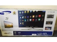 48' Samsung LED Smart TV, UE48H6400, Widescreen 1080p Full HD Quad Core Wi-Fi Smart 3D LED TV