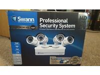 Swann 8 Channel CCTV Network Video Recorder 4x PoE Camera Kit
