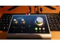 Audient id14 usb interface