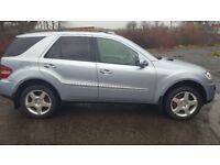 MERCEDES ML 2006 AMG PERFECT CONDITION JUST 68K MILEAGE! FULL LEATHER NO VAT