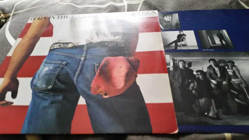 Bruce springsteen born in the usa vintage vinyl lp record